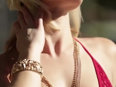 DevilsFilm Horny Blonde Ash Hollywood Outdoors Stripping