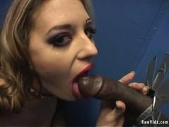 RawVidz Video: Blonde Whore Naile By Black Stud