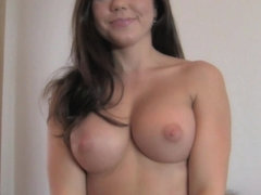 FakeAgent HD: Huge facial for smiley tits