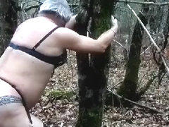 drilled ans whipped in forest