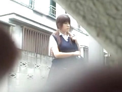 Gorgeous teenage Asian slut having sharking moments with some bloke