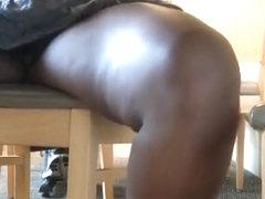 Chubby ebony fat pussy naked