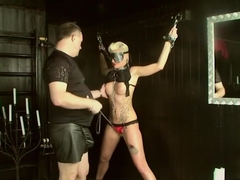 Incredible pornstar Scarlet Young in exotic masturbation, big tits adult clip
