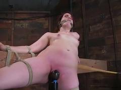 Bronte: This slut cums from pain!!!!