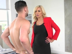 Mom Nina Elle teaching sexy Naomi Woods