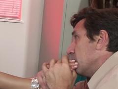 Incredible pornstar Sativa Rose in fabulous mature, facial adult video