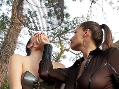Exotic pornstars Sensual Jane and Jelena Jensen in amazing outdoor, dildos/toys adult scene