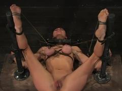 Princess DonnaWorld famous mistress boundand begging to cum.