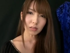 Yui Hatano plays with schlong