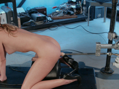 Exotic fetish porn clip with fabulous pornstar Alex Hussy from Fuckingmachines