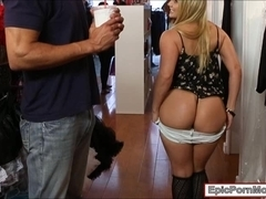 Big ass blondie slut AJ Applegate screwed up real good