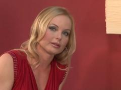 Exotic pornstar Carmen Croft in Crazy Pornstars, Brunette porn movie