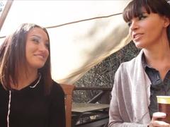 Exotic pornstar in Incredible Lesbian, Brunette xxx video