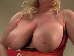 Hottest pornstar Zoey Andrews in amazing blowjob, handjob xxx video
