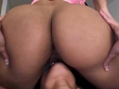 Big ass Rose and Spicy J get nasty