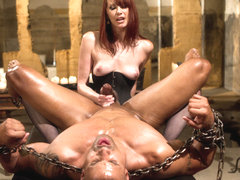 Maitresse Madeline Marlowe & Robert Axel in A Very Long Milking: Episode 1 - DivineBitches