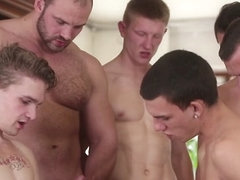 Nick Gill & Tony & Danton Gary & Oscar Hart in Gaykkake #03 Video - MaleReality