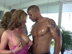 TS Hazel Tucker gets fucked at her lovely butt by a hunk dude