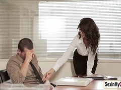 ###ary Alexa Tomas takes care of her boss cock and cum