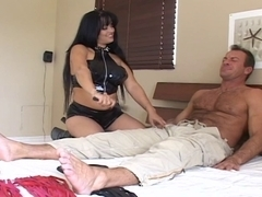 Mason Storm mother I'd like to fuck fuck with footjob