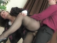 MaturesAndPantyhose Movie: Judith A and Adam