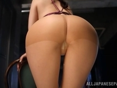 Yui Tatsumi hot Asian milf is an amateur stripper