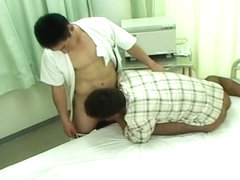 Exotic Asian homo dudes in Horny masturbation, uniform JAV video
