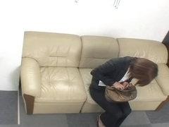 Jap hottie crammed hard in voyeur Japanese hardcore video