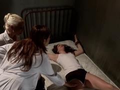 Exotic lesbian, fetish porn movie with incredible pornstars Francesca Le, Bobbi Starr and Lorelei .