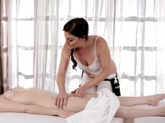 Crazy pornstars Sovereign Syre, Jenna J Ross in Exotic Massage, Dildos/Toys xxx clip