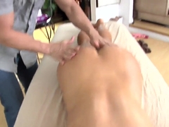 Venice felt some stirring in her cunt during sensual massage