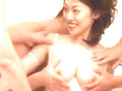 Exotic Japanese whore Ann Yabuki in Fabulous Big Tits, Gangbang JAV scene