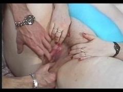 BBW bitch fucked in a retro porn video
