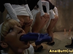 Fetish nuns insert object