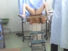 Girl under gyno medical investigation shot on hidden cam