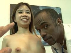 Exotic pornstar Asia Zo in amazing creampie, interracial sex video