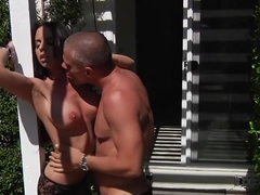 Horny pornstar Brandy Aniston in hottest tattoos, big tits xxx scene