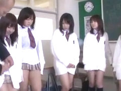 Incredible Japanese girl in Crazy Blowjob/Fera, Gangbang JAV video