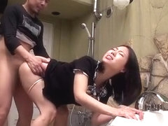 Incredible Japanese whore Marina Isshiki in Horny Handjobs, Lingerie JAV movie
