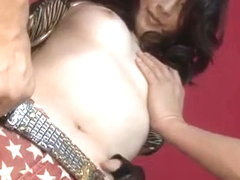 Asuka Mimi screams with cock fully in her pussy - More at Japanesemamas.com