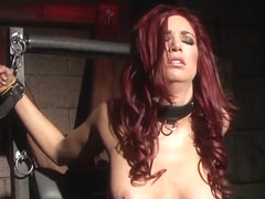 Jayden Cole in Bound Hottie Pleases Herself While Still Chained Up - JaydenCole
