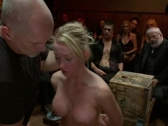 Humiliating a naughty slut