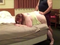 SSBBW takes it like a pig