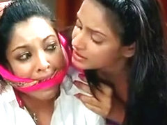 Cleave Gagged indian