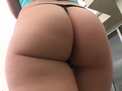 Katie St. Ives has an all natural body and sexy oiled ass