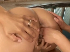 Candy and Wibeke are pleasing each other and their horny pussy's