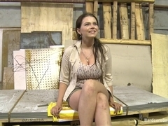 Big Titted 18 Year Old Russian Slut gets Gangbanged for the first time