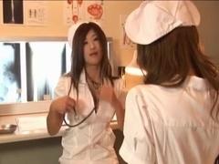 Japanese Lesbians Futanari Nurses sex