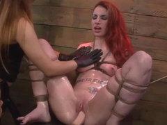 Sheena Rose's Strapon Whore Training Session with Mila Blaze & Alexa Rydell