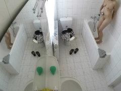 Peeping my maid showering twice